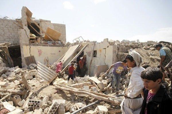 جرائم وانتهاكات العدوان السعودي على اليمن