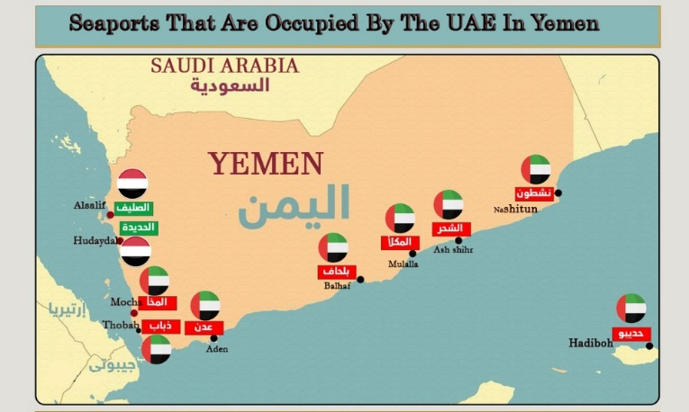 seaports that are occupied